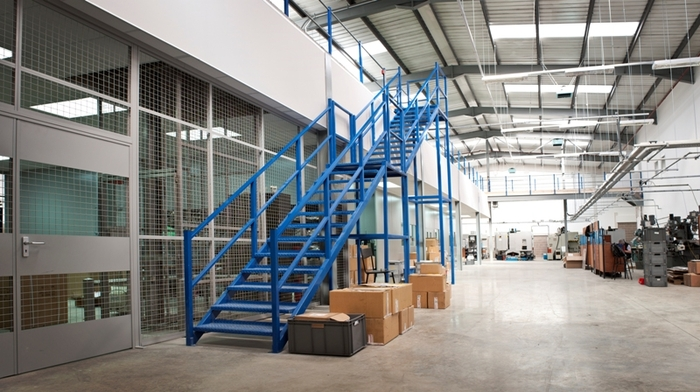 Bournemouth Mezzanine Floor Solution Image