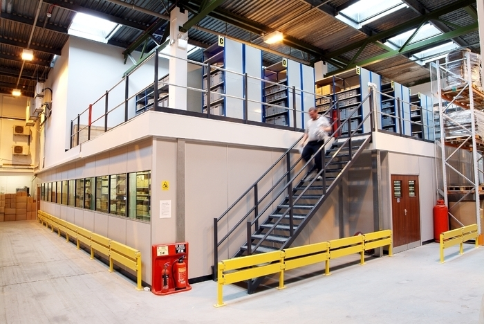 Factory Mezzanine Floors Southampton | Products | Spaceway