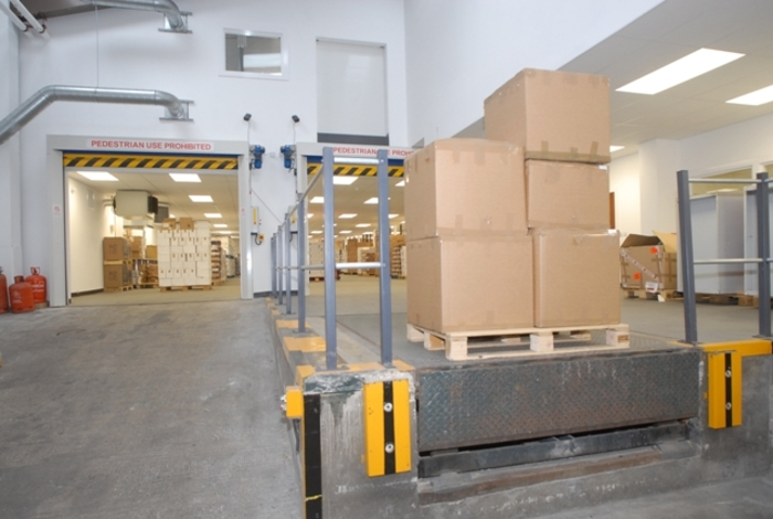 London Warehouse Fit Out
