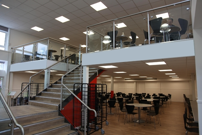Greendown school case study spaceway