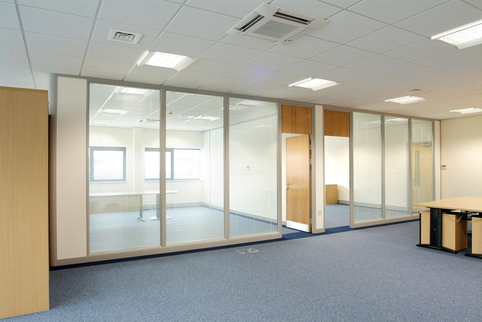 Glazed office partitions Oxford Image